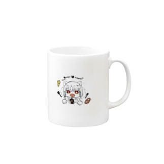 ganbari mouse Mugs