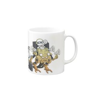 音響ロボ Mugs