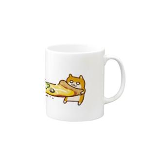 ピザビヨーンクソハム マグカップ