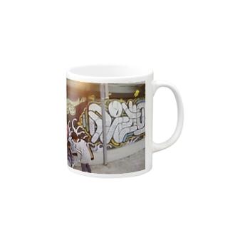 グラフィティマグカップ Mugs