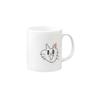 ファー?!??!って言ってるネコ Mugs