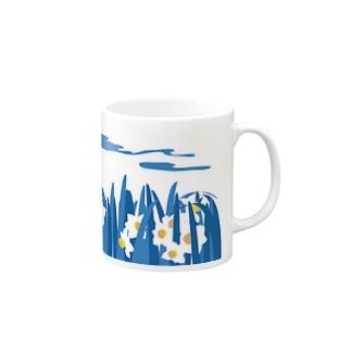 水仙 Mugs