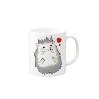 ハリネズミ(ハート) Mugs