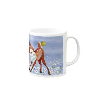 バンビ マグカップ
