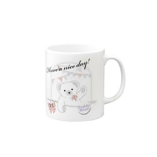 Girly Bear Mugs