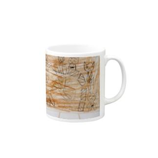 猫のおどりのオーケストラ Mugs