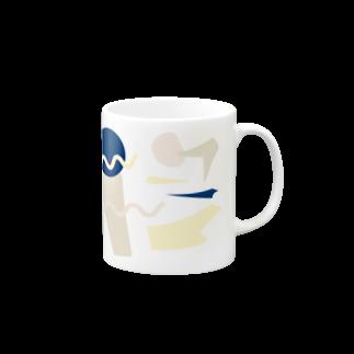 sukima_designのUntitled Mugsの取っ手の右面