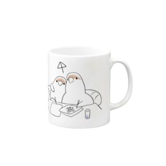 [BUNNNKO CAFE ] コザクラインコ Mugs