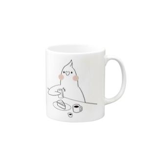 [BUNNNKO CAFE ] オカメインコ  Mugs