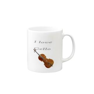 CELLO LOVE Mugs