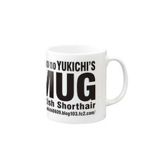 YUKICHI猫めがね Mugs