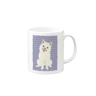 NO SHIBA, NO LIFE. Mugs