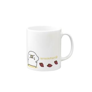 うるせぇトリのマグカップ Mugs