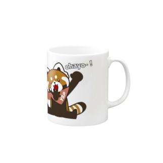 YSパンダオハヨー! Mugs