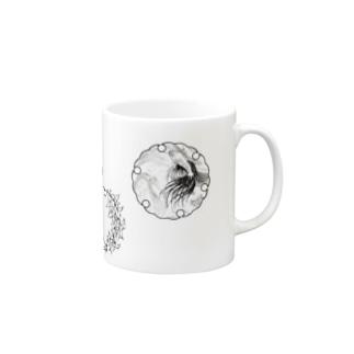 雪輪:異国にて Mugs