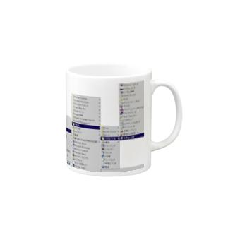 窓98 Mugs