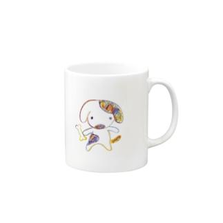 ワンポくん Mugs