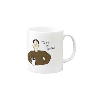 休憩 Mugs