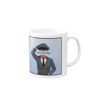 透明人間 Mugs