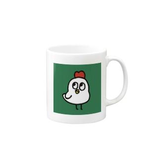 ゆめみがちなにわとり Mugs