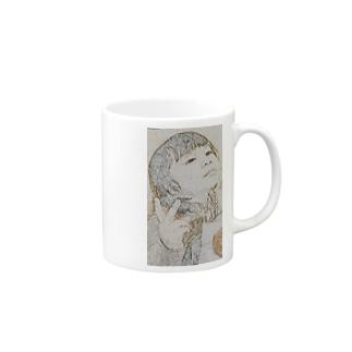 girl01 Mugs