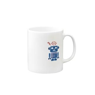 Forkwell ロボ Mugs