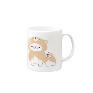 おねんね前のねこぺん Mugs
