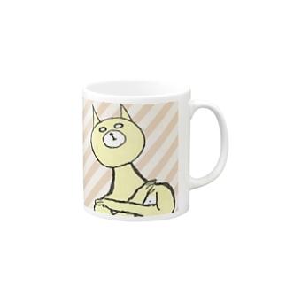 ちょネコさんvsねこ? Mugs