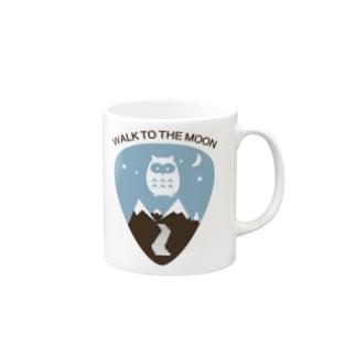 WALK TO THE MOON Mugs