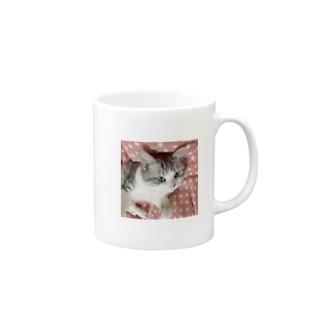 うちのミルクさん。 Mugs