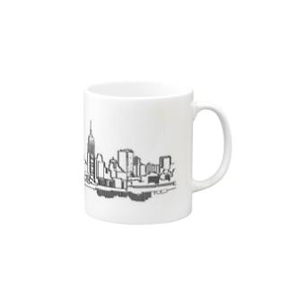 New York Skyline Mug Mugs