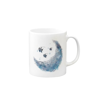 AQUARIUMOON Mugs