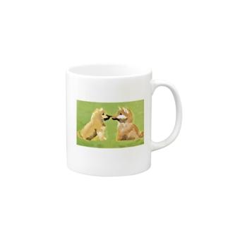 柴犬(しばことしばお) Mugs