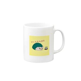 さくらもちぶた Mugs