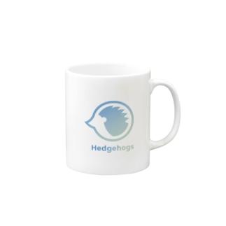 Hedgehogs[green] Mugs
