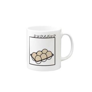 シックスパック Mugs