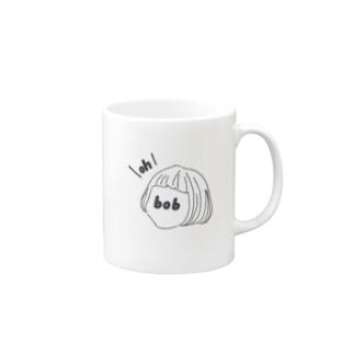 oh! bob  girl Mugs