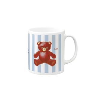 【Hug me】(赤くま)  Mugs