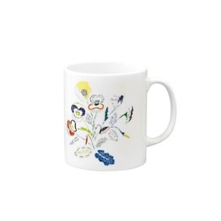 スミレMUG Mugs