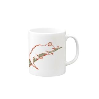 カメレオメン Mugs