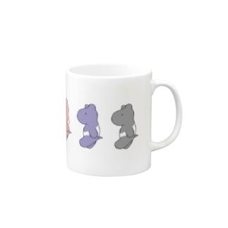 バク(色とりどり) Mugs