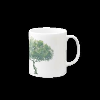 石川 佳宗の樹木 Mugsの取っ手の右面