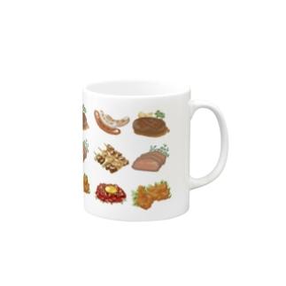 肉が好き Mugs