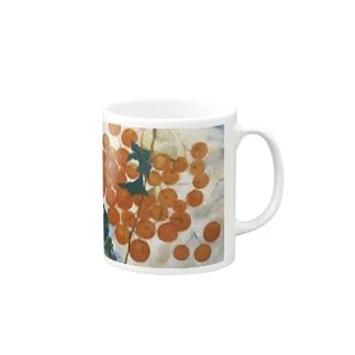 「赤い実」 Mugs