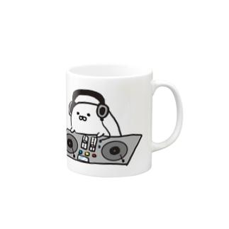 DJあざらし Mugs