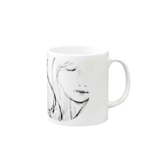 防衛 Mugs