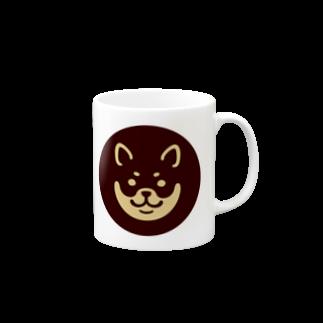 chi-bitのSHIBAT - クロシバ マグカップ