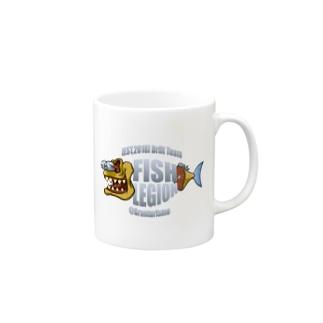 御魚軍団 Mugs