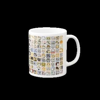 Yoshisyanのよししゃんコレクション196 Mugsの取っ手の右面