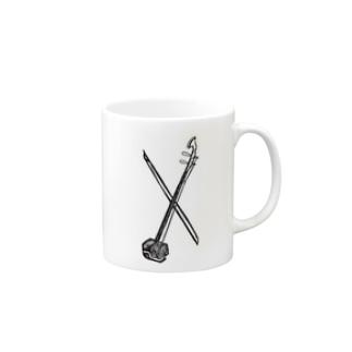 Er-hu Mugs